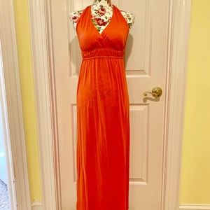 Tangerine New Directions maxi dress PS